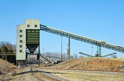 Quarry Loading Facility Royalty Free Stock Image