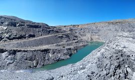 quarry mining Royalty Free Stock Images
