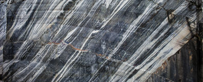Quarry of natural deposits of marble. Background texture of natural marble Royalty Free Stock Image
