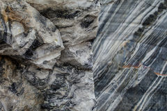 Quarry of natural deposits of marble. Background texture of natural marble Stock Photography