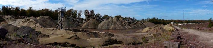 Free Quarry Panorama Stock Photos - 21529593
