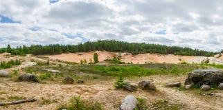 Quarry panorama Stock Image