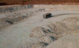 Quarry production Stock Images