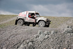 Quarry racing Royalty Free Stock Photography