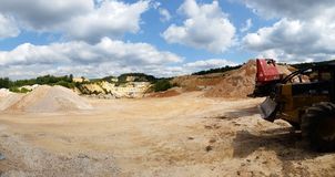 Quarry Stock Photo
