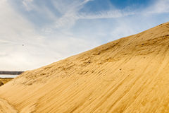Quarry for sand mining Stock Image