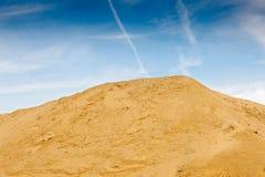 Quarry for sand mining Stock Photos