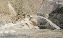 Quarry scenery Stock Photo