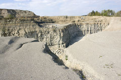 Quarry scenery Royalty Free Stock Photo