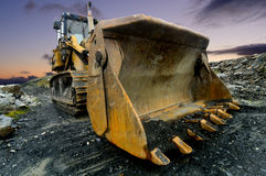 Quarry Shovel Stock Photos