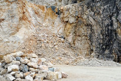 Quarry Royalty Free Stock Photos