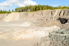 Quarry Royalty Free Stock Images