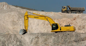 Quarry of stones. In Studena, Bulgaria Stock Photography