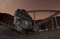 Quarry structure Stock Photography
