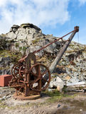 Quarry Winch Royalty Free Stock Images