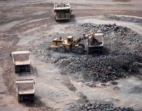 Quarry Workings Stock Image