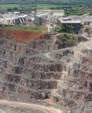 Quarry Workings Royalty Free Stock Image