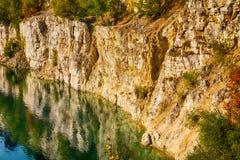 Quarry in Zakrzowek Royalty Free Stock Photos