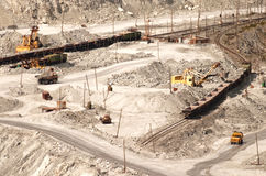 Quarrying Royalty Free Stock Images