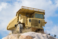 Quarrying truck Royalty Free Stock Photography