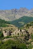 Quart Castle. A.D. 1185 - Aosta Valley - Italy Royalty Free Stock Photography