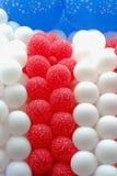Quart des ballons de juillet Image stock