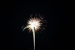 Quart des feux d'artifice de juillet Images stock