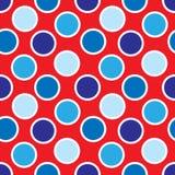 Quart des points de polka de juillet Images libres de droits