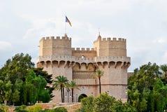 Quart Góruje wystrzały Walencja Hiszpania Obraz Royalty Free