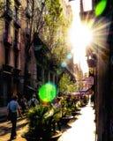 Quart gothique, Barcelone Photos stock
