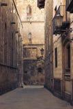 Quart gothique, Barcelone v Image libre de droits