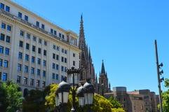 Quart gothique de Barcelone à Barcelone, Espagne le 22 juin 2016 Photographie stock