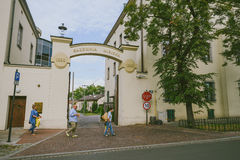 Quart juif de Cracovie, Pologne Photos stock