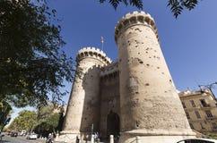 The Quart Towers fron Valencia Royalty Free Stock Photo
