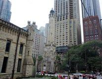 Quarta chiesa presbiteriana, Chicago, Illinois fotografia stock
