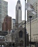 Quarta chiesa presbiteriana di Chicago fotografia stock