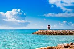 quarteira της λιμενικής Πορτογαλίας ψαράδων Στοκ Φωτογραφίες