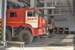 Quartel dos bombeiros Imagem de Stock Royalty Free