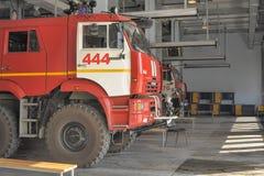 Quartel dos bombeiros Fotos de Stock