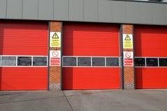 Quartel dos bombeiros Fotografia de Stock