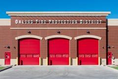 Quartel dos bombeiros de Orland Fotos de Stock