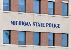Quartel-general da polícia do estado do Michigan Fotografia de Stock