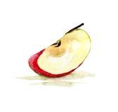 Quarter of apple Royalty Free Stock Image