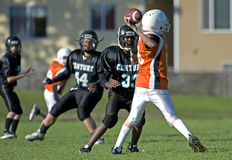 Quarter back Pass royalty free stock images