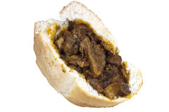 Quarter Loaf Traditional South African Mutton Bunny Chow Royalty Free Stock Photography