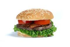 Quarter pound burger Royalty Free Stock Images