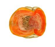 Quarter of pumpkin Stock Photos