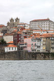 Quarter of Ribeira in portuguese town of Oporto Stock Photo