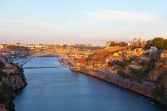 Quarter of Ribeira to Porto Royalty Free Stock Photography