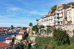 Quarter Ribeiro in old part of Porto Royalty Free Stock Photos
